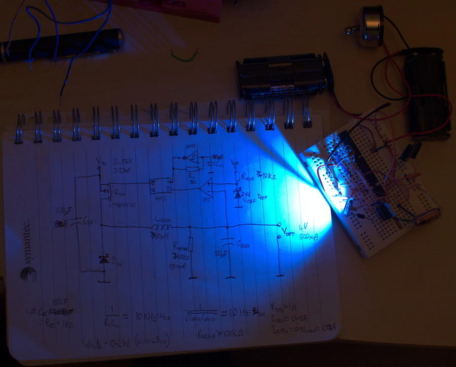 Breadboard build that actually works first time!