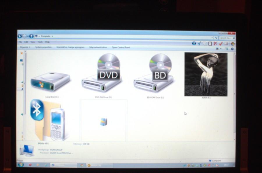 USB Aura device detected