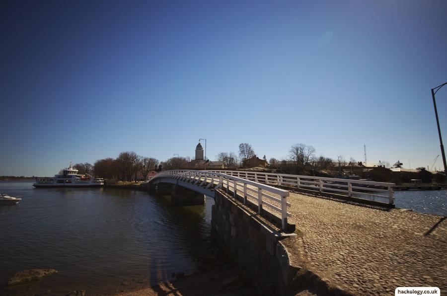 Bridge between islands