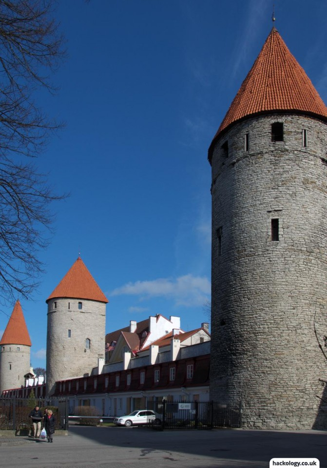 Old town walls and towers
