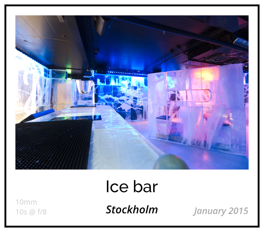 Icebar, Stockholm